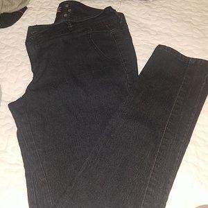 Denim - Jazzie dark blue jeans sz 9